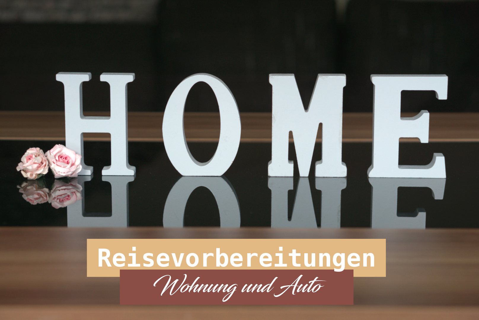 reisevorbereitungen zum thema wohnung und auto. Black Bedroom Furniture Sets. Home Design Ideas